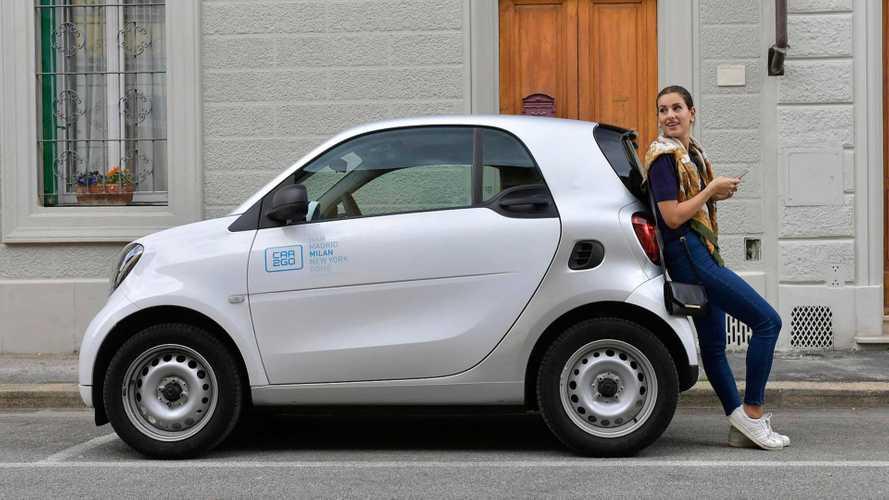 car2go, in Italia mezzo milione di iscritti