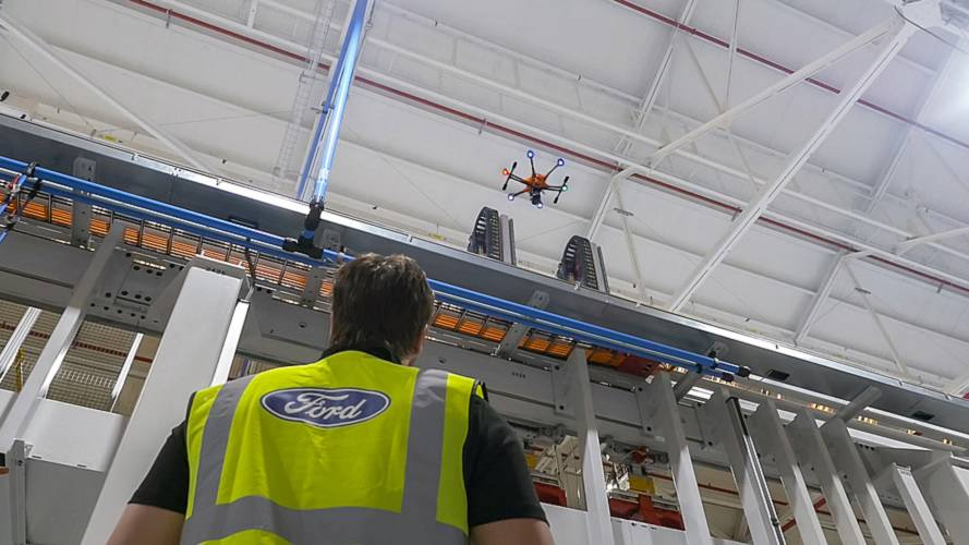 Ford's high-flying drones do Dagenham's dangerous work