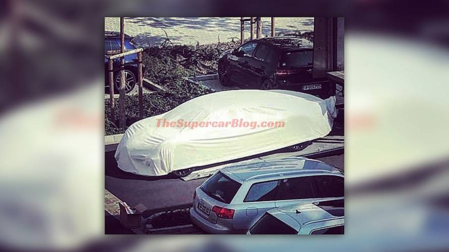 Four-Door Bugatti Super Sedan Possibly Spotted Under Wraps