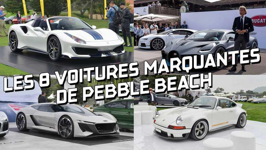 DIAPORAMA - Les 8 voitures qu'il ne fallait pas manquer à Pebble Beach 2018