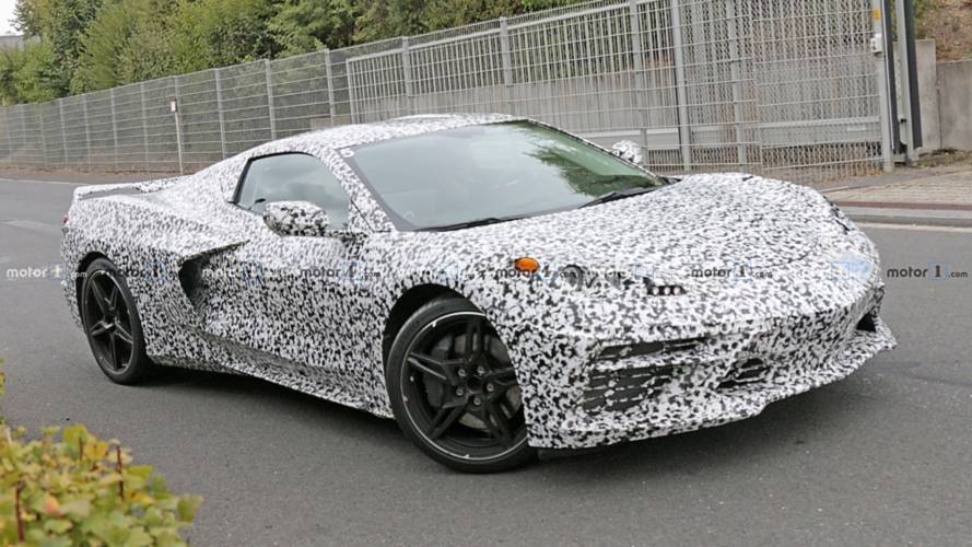 Mid-engined Chevy Corvette caught in most revealing spy shots yet