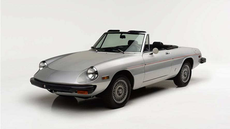 Muhammad Ali's Alfa Romeo Spider Floats Onto The Auction Block