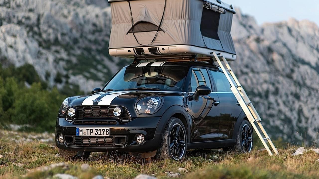 Mini Camping-Konzepte