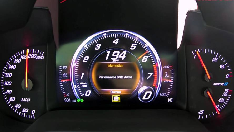 Watch Hennessey Take Chevy Corvette ZR1 To 194 MPH