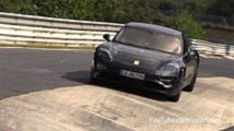 Porsche Taycan, spy photo Nurburgring
