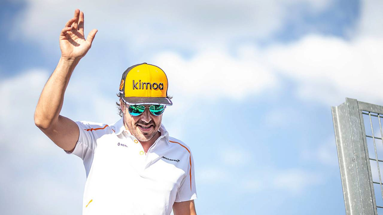 Fernando Alonso Hungarian GP 2018