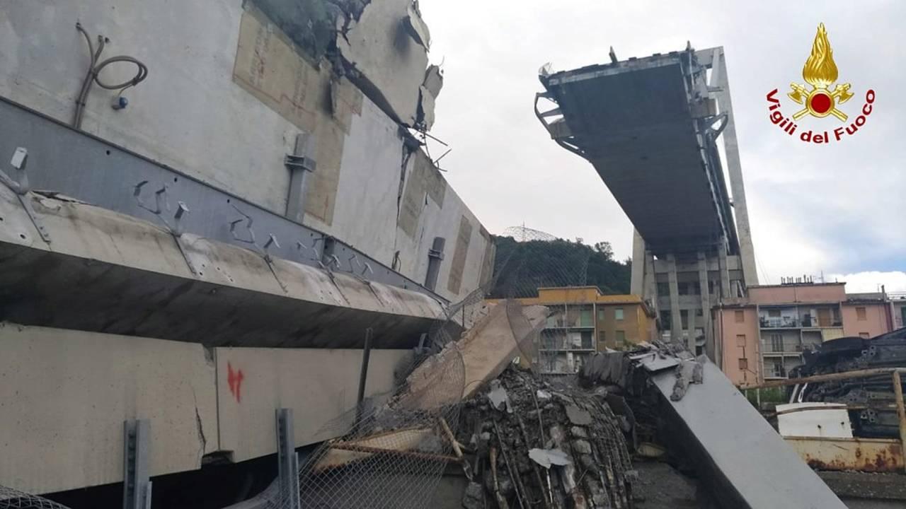 La tragedia del Ponte Morandi
