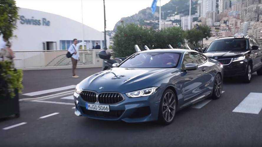 VIDÉO - La BMW M850i rode dans la principauté de Monaco