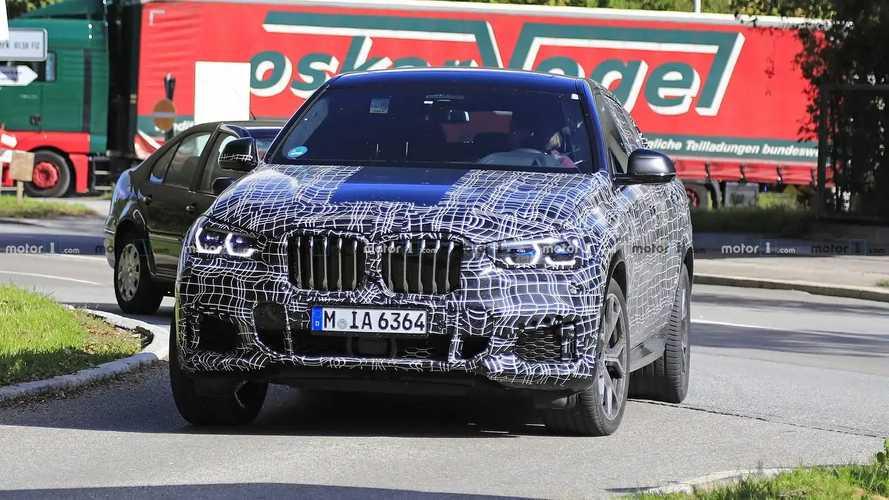 2019 BMW X6 yeni casus fotoğraflar