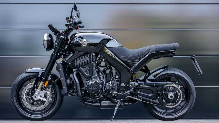 The Horex VR6 Raw is a V6 Two-Wheeled Monster