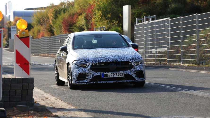 Photos espion - Mercedes-AMG A 35 berline