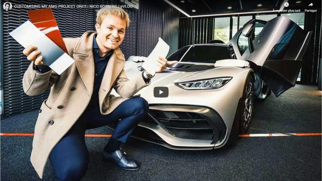 Mercedes-AMG ONE Nico Rosberg