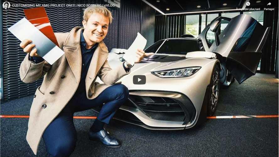 VIDÉO - Nico Rosberg est l'un des heureux propriétaires de l'AMG ONE
