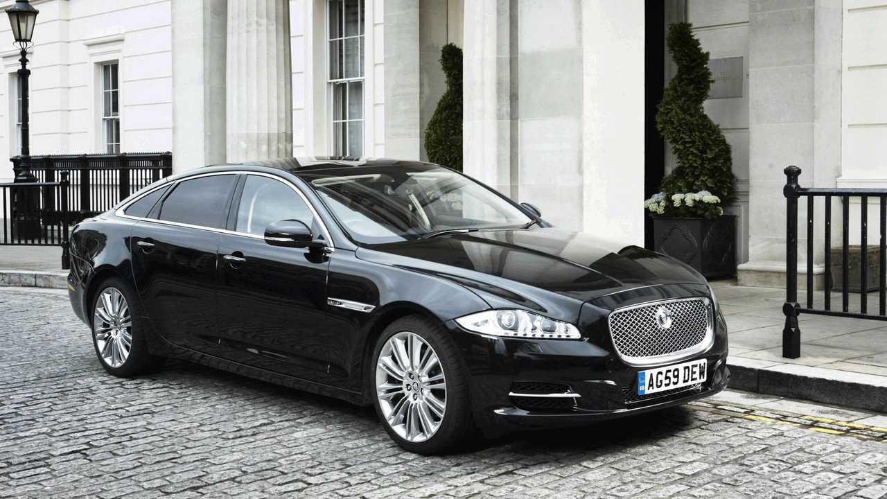 Theresa May (Großbritannien): Jaguar XJ Sentinel