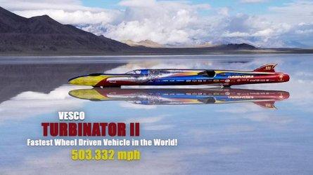 VIDEO: Der Turbinator II erreicht unglaubliche 810 km/h