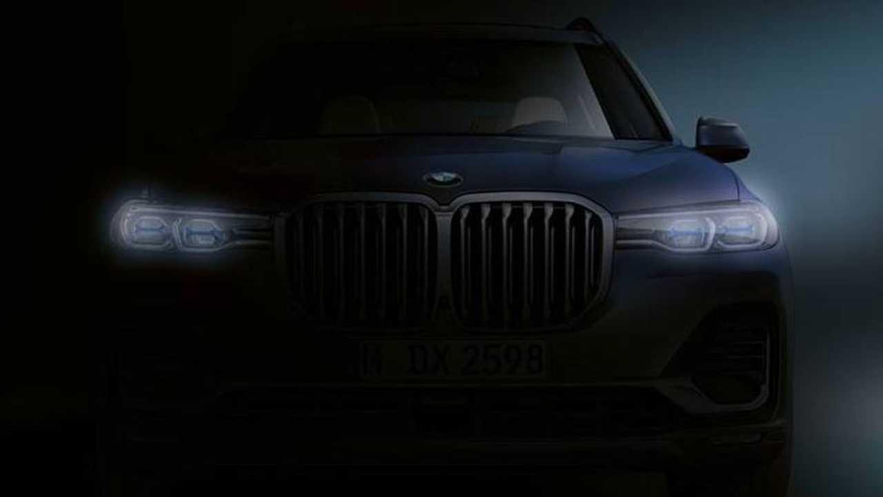 BMW X7 teaser image