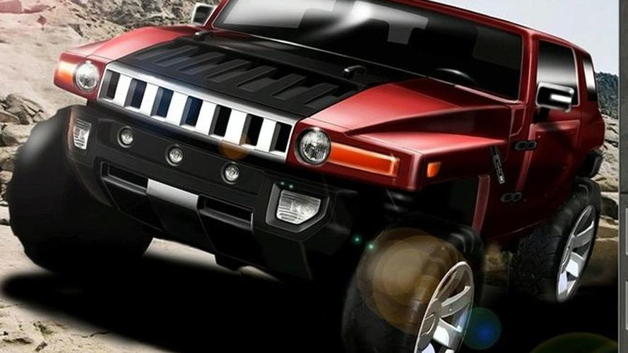 Hummer HX Concept for Detroit Debut