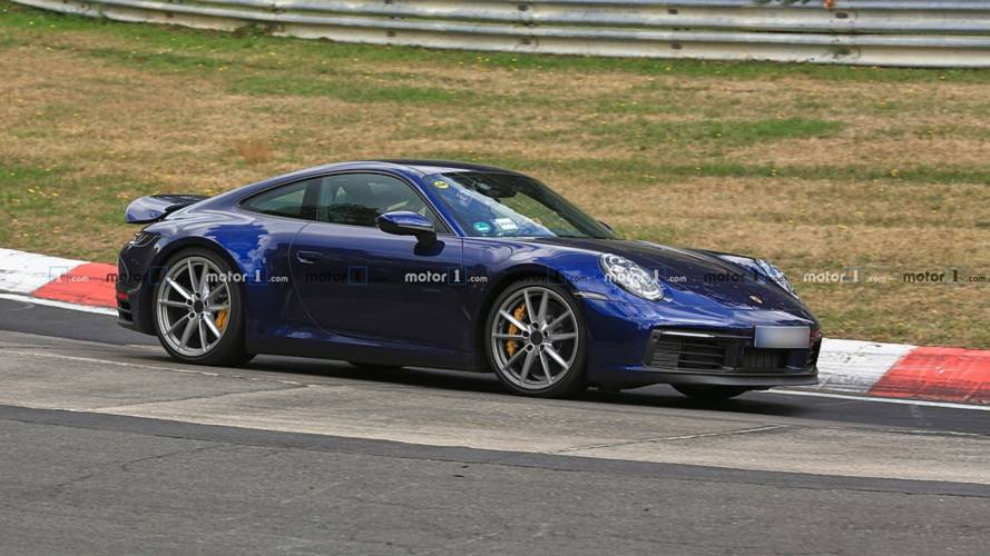 2019 Porsche 911 Spied Yet Again With Barely Any Camo