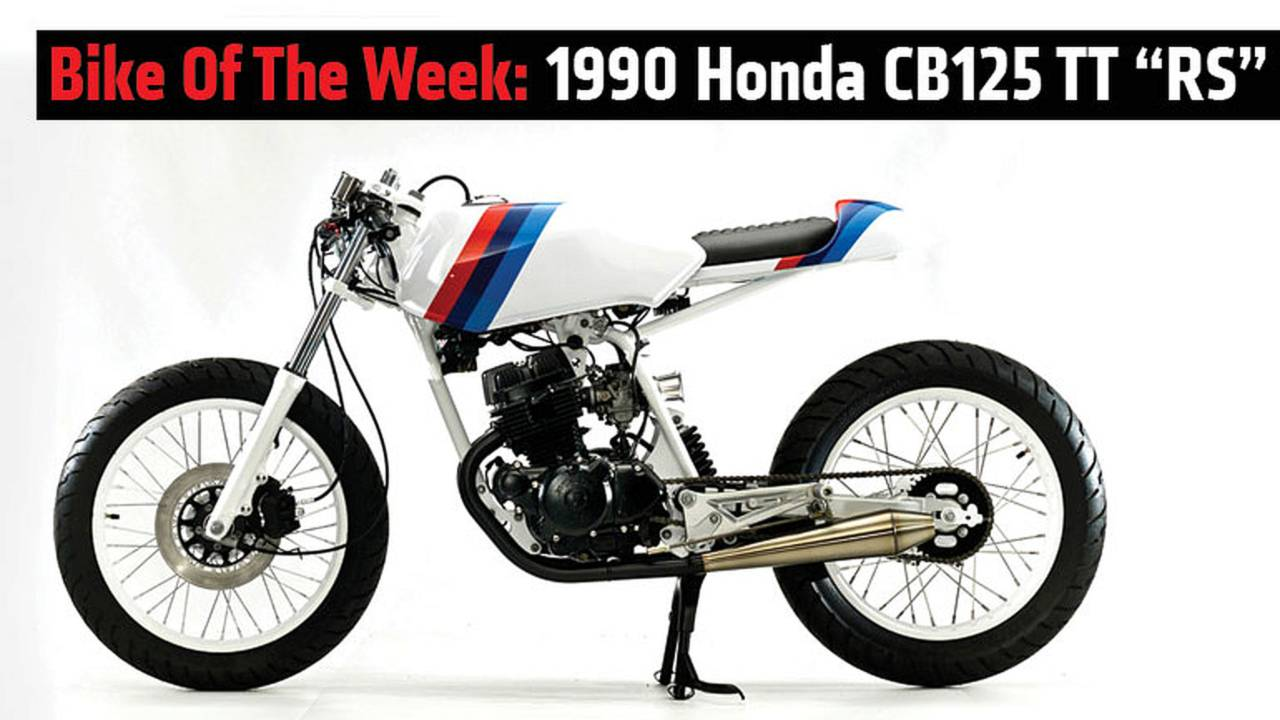 RideApart Bike of the Week: 1990 Honda CB125 TT