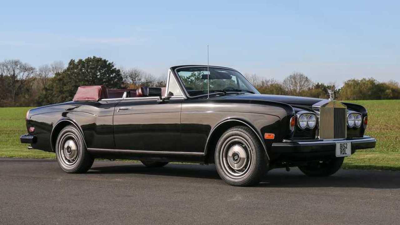Frank Sinatra's Rolls-Royce is for sale