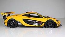 McLaren P1 GTR matriculado para calle