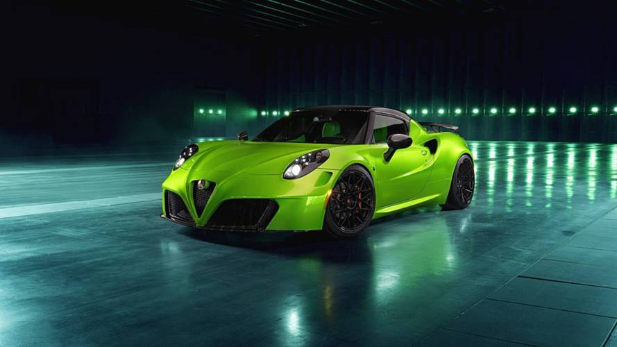 Alfa Romeo 4C Has Aston Martin Vantage Paint, Lamborghini Leather