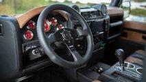 Land Rover Defender con motor de Corvette