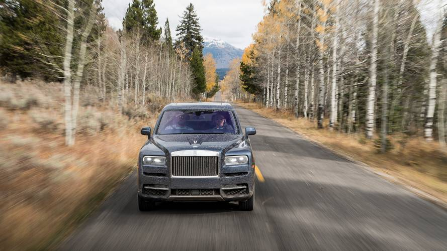 Rolls-Royce Cullinan, le prime impressioni