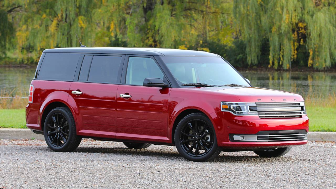 6. Ford Flex: 64.3 Days