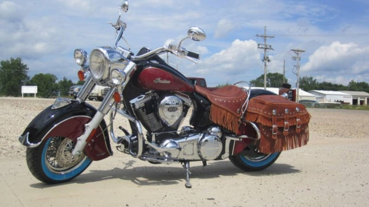 Circle your wagons Harley, Indian is on the warpath