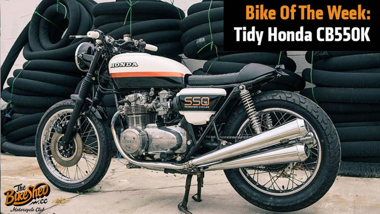 Bike Of The Week: Tidy Honda CB550K