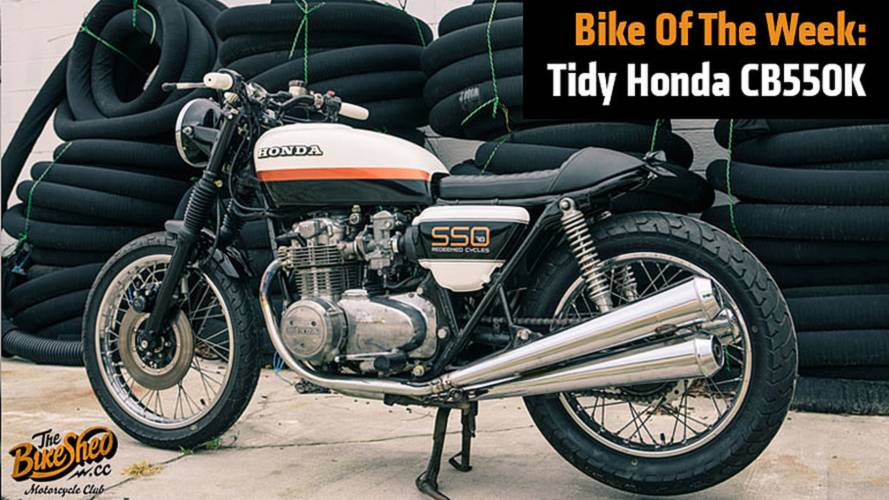 Bike Of The Week: Tidy Honda CB550K