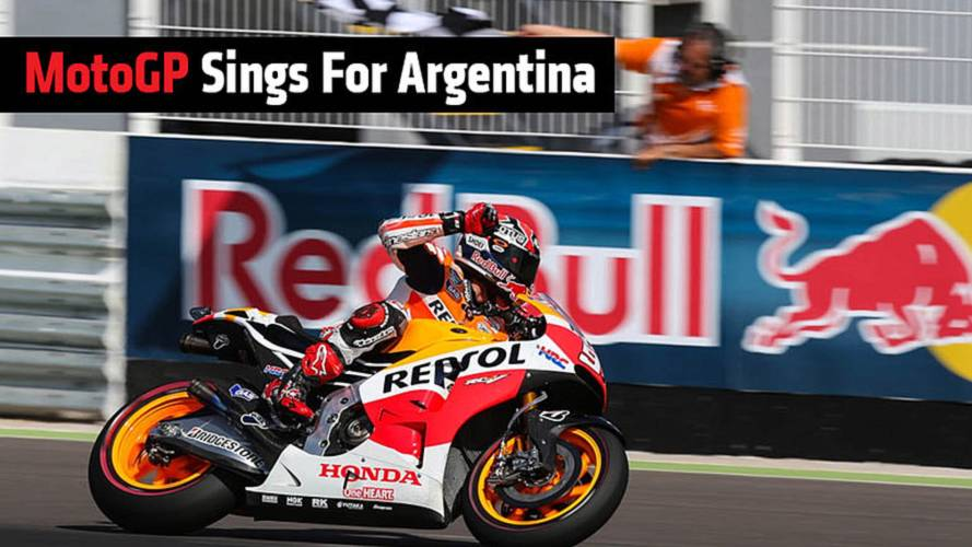 MotoGP Sings For Argentina