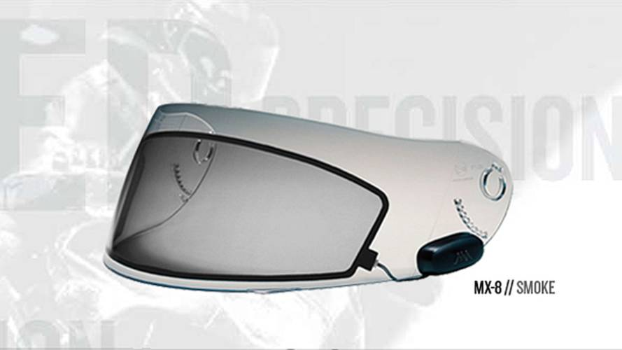 Go black and go back: e-tint visor inserts