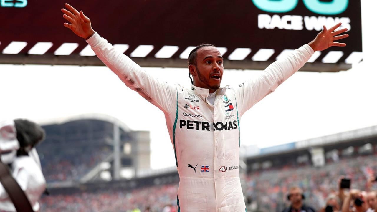 Lewis Hamilton GP Allemagne 2018