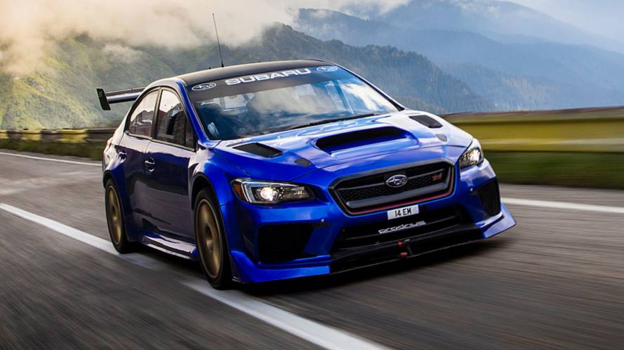 Driving The World's Best Road In A Subaru WRX STI