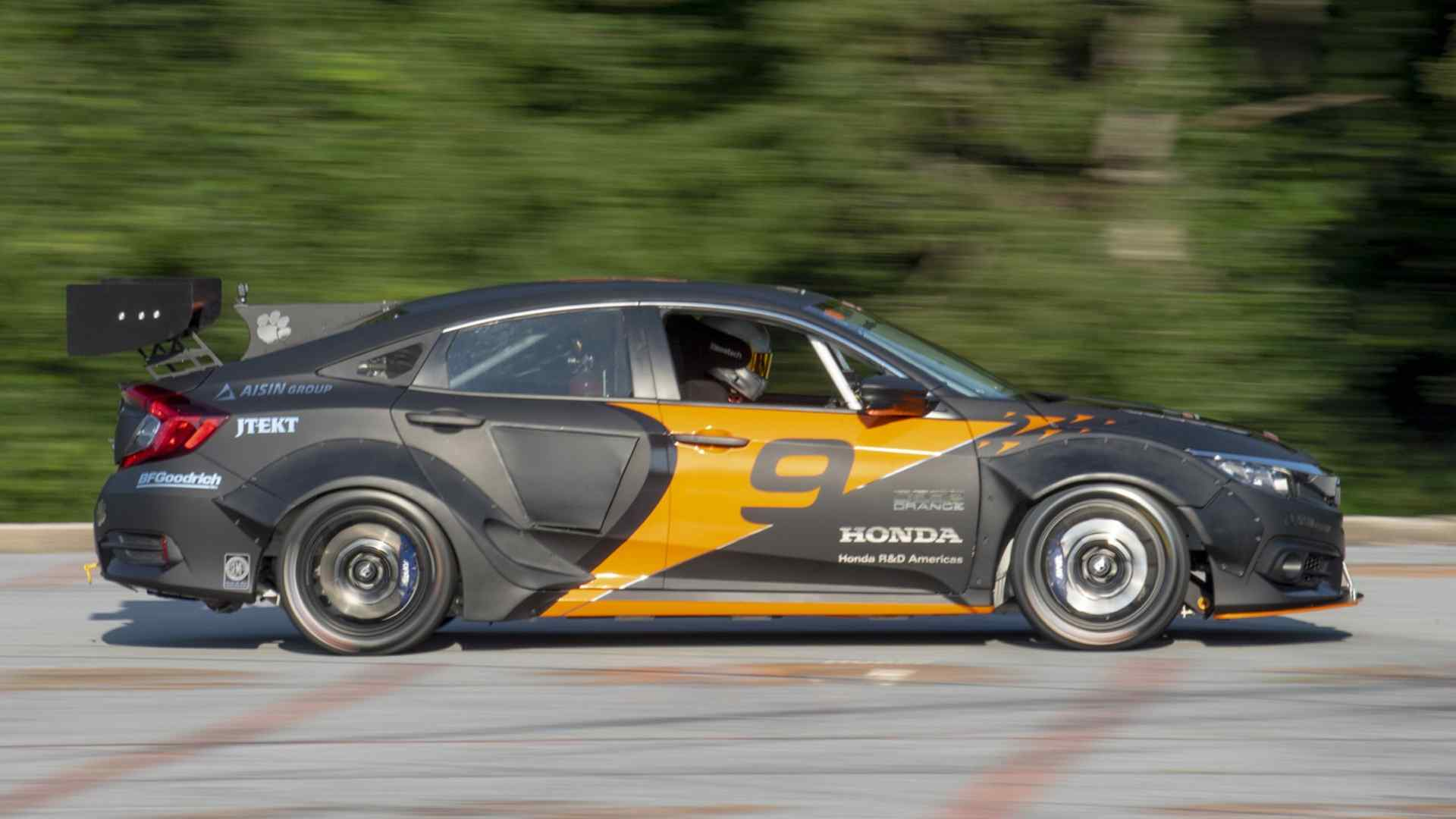 Deep Orange 9 Is A 600 Horsepower Honda Civic Hybrid Race Car