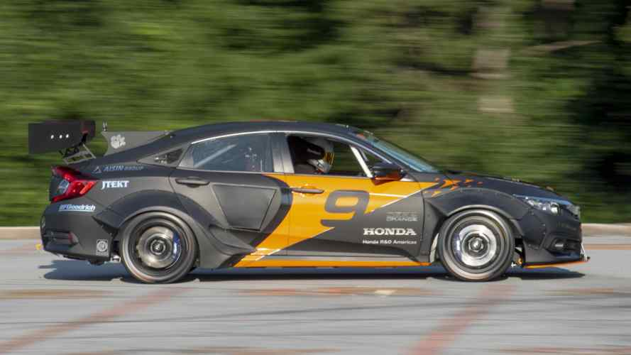 Deep Orange 9 Is A 600-Horsepower Honda Civic Hybrid Race Car