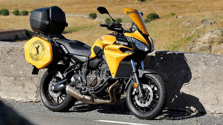 La Yamaha Tracer 700, moto oficial de La Vuelta