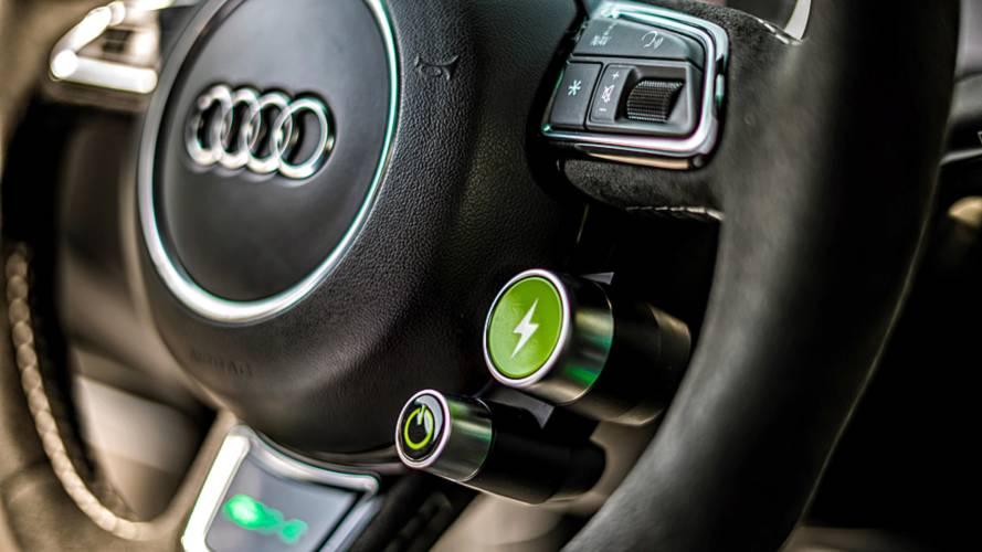 ABT Audi RS6-E, la prova