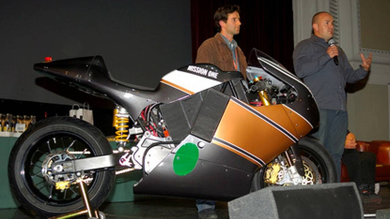 Mission One TTXGP racer breaks cover