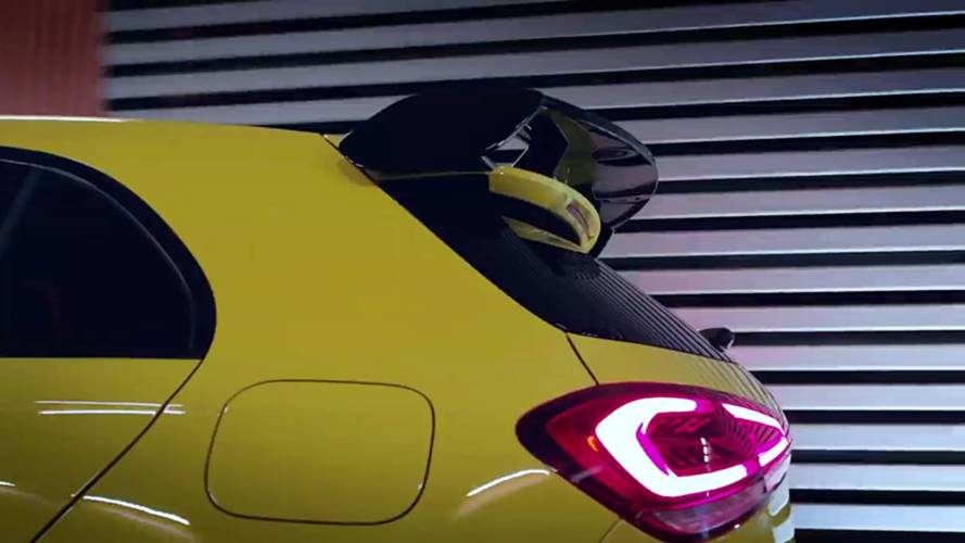 More Mercedes-AMG A35 'go-faster' bits teased