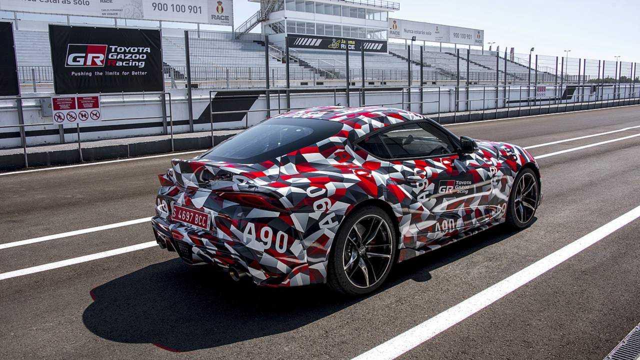 Toyota Supra Prototipi test sürüşü