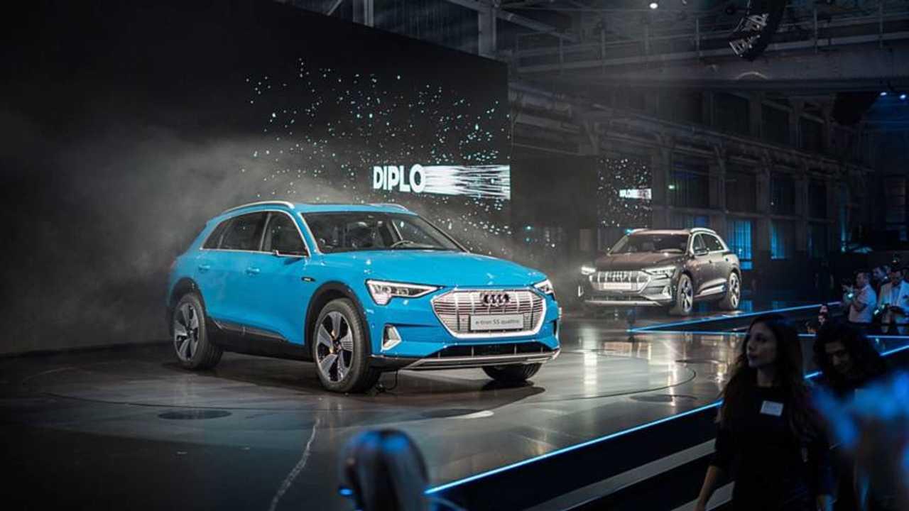 Audi e-tron world premiere