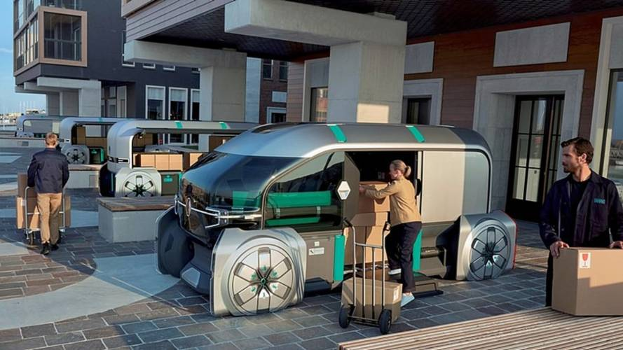 Renault EZ-Pro Concept imagines the autonomous delivery future