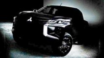 Mitsubishi L200 teaser