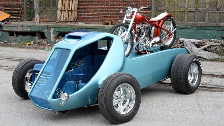 Cycleweird Short: Big Daddy Ed Roth's Mega Cycle