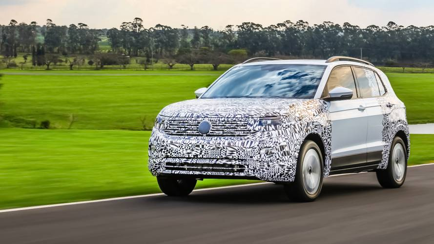VW T-Cross to debut on October 25