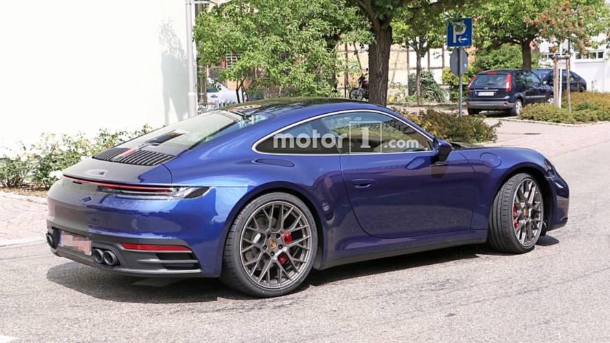 La nouvelle Porsche 911 presque à découvert