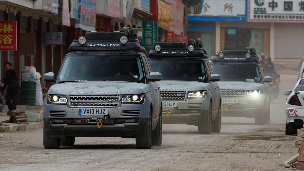 Range Rover Silk Trail 2013 China